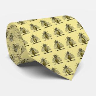 Gravata Emblema heráldico formal C da brasão da abelha do