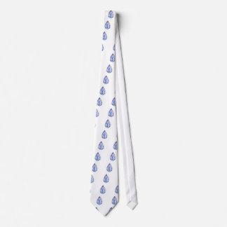 Gravata Escudo de ostra da aguarela com pérola
