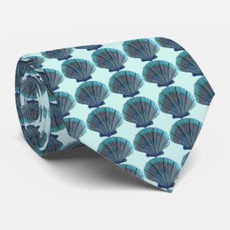 Gravata Escudos de Scallop verdes