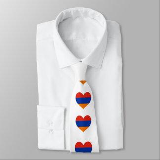 Gravata Estilo arménio: Laço do coração