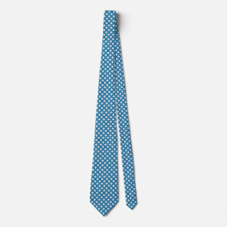 Gravata Estrutura azul do desenhista de Mykonos