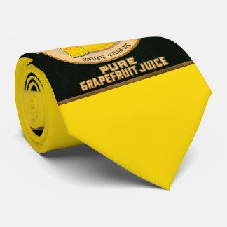 Gravata etiqueta do suco de toranja da marca dos cervos