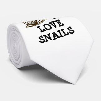 Gravata Eu amo caracóis