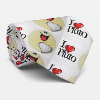 Gravata Eu amo Pluto