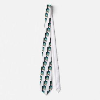 Gravata Evergreen - retrato da aguarela