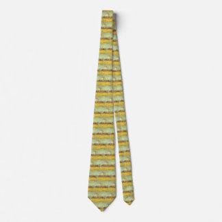 Gravata Fábricas em Asnieres por Vincent van Gogh