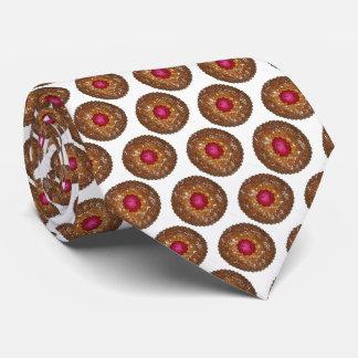 Gravata Feriado do biscoito do Natal do Torte de Linzer da