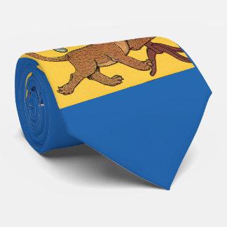 Gravata filhote de leão pequeno descuidado dos anos 30