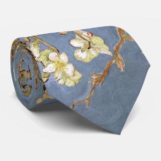 Gravata Flor da amêndoa de Van Gogh