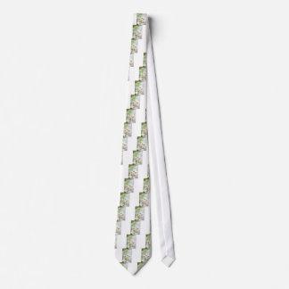 Gravata Flor do lírio branco inteiramente aberta