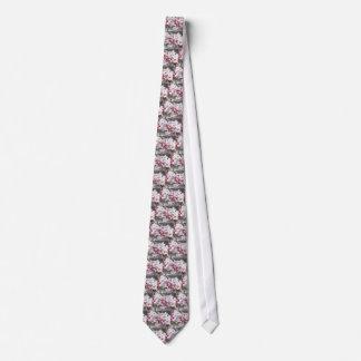 Gravata Flores de cerejeira