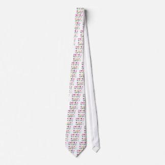 Gravata Flores populares luxuosas no branco