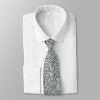 Gravata Folha branca laço telhado do teste padrão