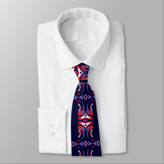 Gravata Forme o laço para Homem-Vermelho/branco/azuis