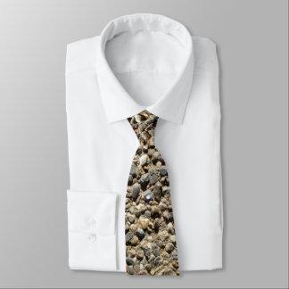 Gravata Foto do cascalho & da areia