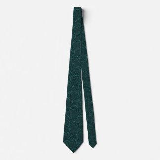 Gravata Fractal verde