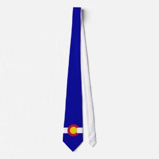 Gravata Fundo do azul do sangramento do cheio da bandeira