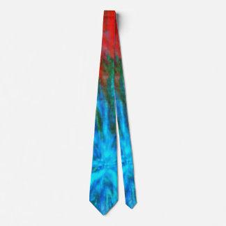 Gravata Golpes grandes abstratos 001 coloridos