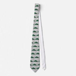 Gravata Granito concreto #412 do verde da seta