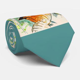 Gravata Homem do chapéu de Stetson que ilumina um cigarro