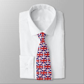 Gravata Ideia britânica do presente do laço do pescoço do