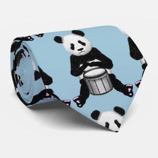 Gravata Ilustração do cilindro do urso de panda