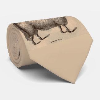 Gravata Impressão do século XIX dos carneiros da ram de