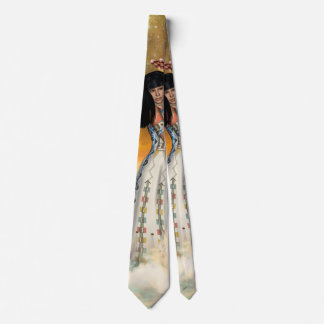 Gravata Indiano amarican bonito