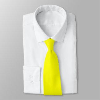 Gravata Laço amarelo da cor