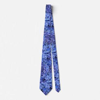 Gravata Laço azul do Hydrangea