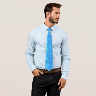 Gravata (Laço azul molhado de 1 lado)