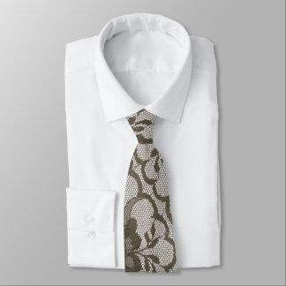 Gravata Laço branco bege de Brown do Sepia urbano moderno