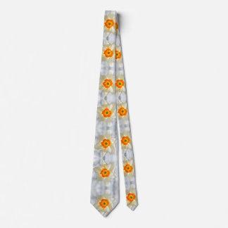 Gravata Laço brilhante do design da flor