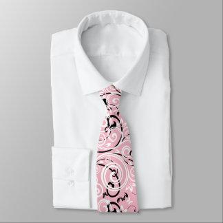 Gravata Laço cor-de-rosa do Flourish dos homens