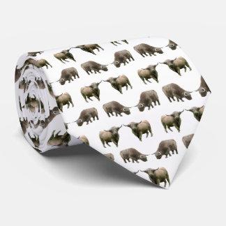 Gravata Laço da agitação da vaca das montanhas (escolha a