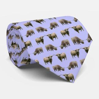 Gravata Laço da agitação da vaca das montanhas (Lilac)