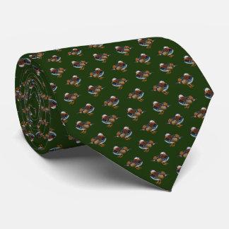 Gravata Laço da agitação de Manadrin (verde escuro)