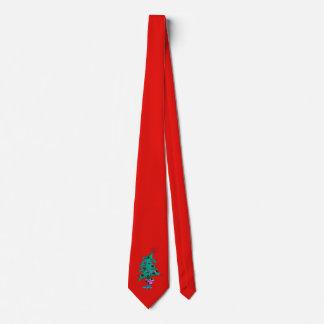 Gravata Laço da árvore de Natal - vermelho - árvore de
