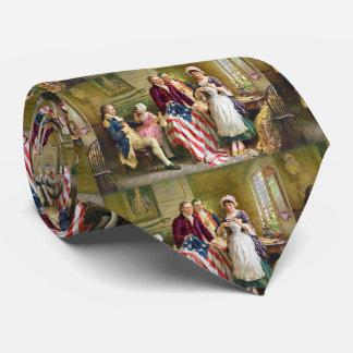 Gravata Laço de Betsy Ross George Washington