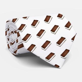 Gravata Laço de creme de Foodie do sanduíche de Vanilla