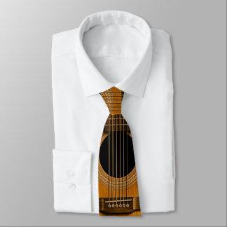 Gravata Laço de madeira natural da música da guitarra