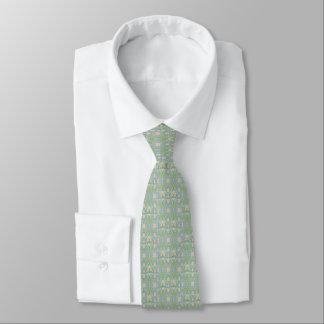 Gravata Laço de seda de verde prudente dos homens com