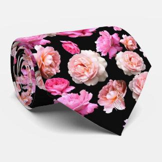 Gravata Laço de seda floral tomado partido dobro luxuoso