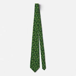 Gravata Laço do design dos trevos do dia de St Patrick