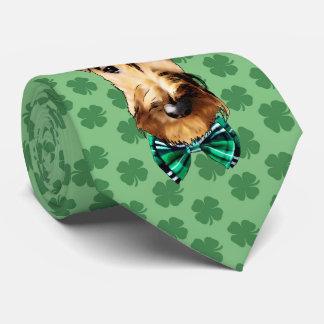 Gravata Laço do dia de Terrier irlandês St Patrick
