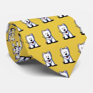 Gravata Laço do pescoço de KiniArt Westie Terrier
