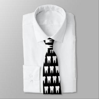 Gravata Laço do pescoço do dentista com design do teste