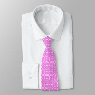 Gravata Laço do pescoço dos homens cor-de-rosa com design
