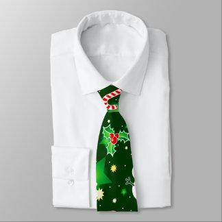 Gravata Laço do teste padrão do feriado do Natal do