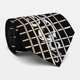 Gravata Laço embutido de Fretboard da guitarra